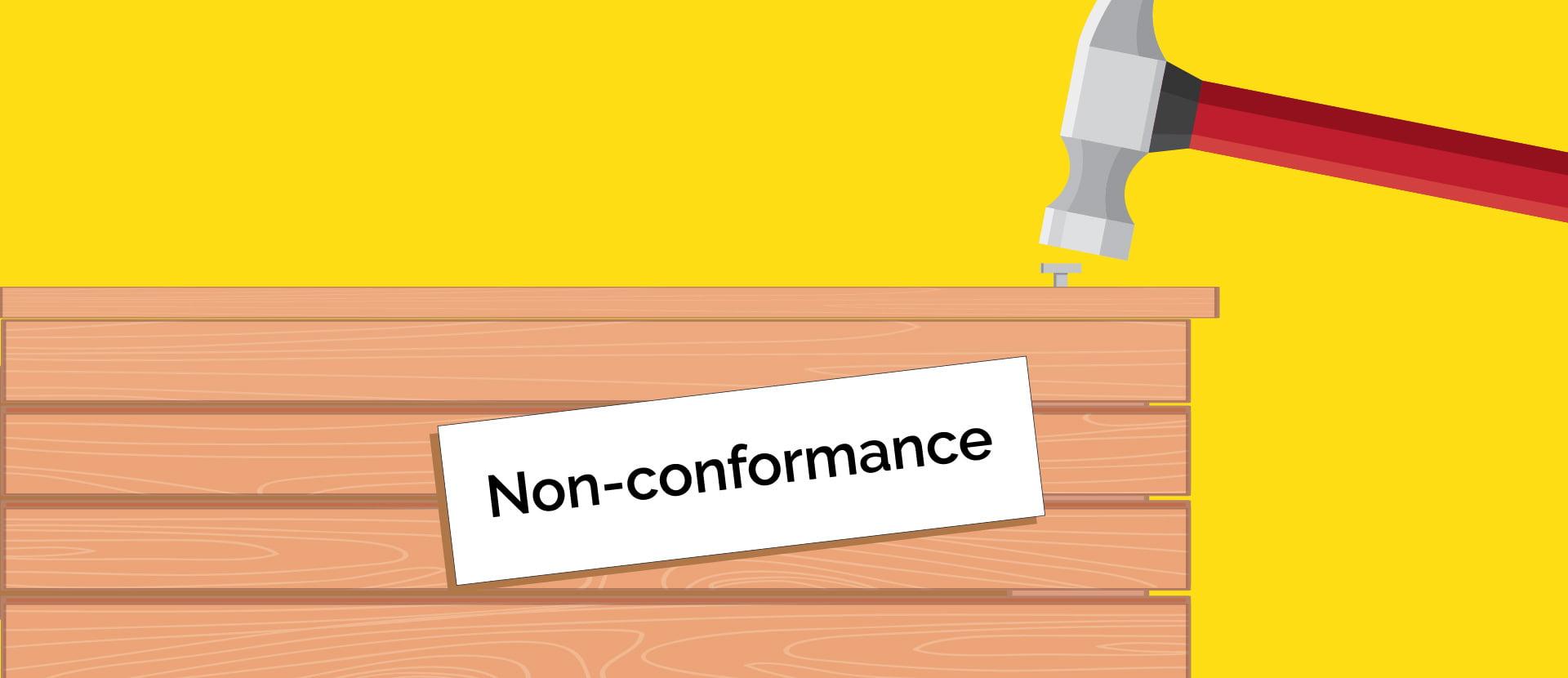 Non-conformance close-out