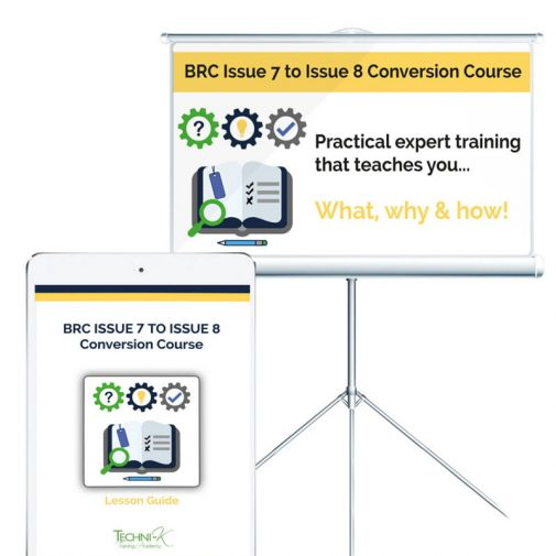 BRC Food - Issue 7 to 8 Training