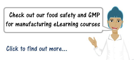 Food Safety & GMP for Manufacturing Training