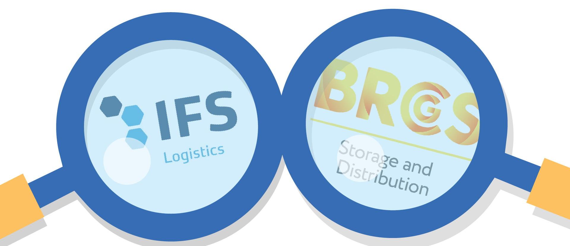 BRCGS Stirage & Distribrition vs IFS Logistics