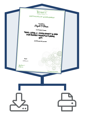 Food Safety Certificate
