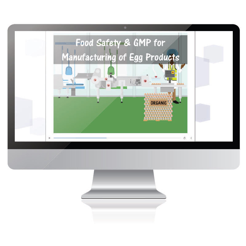 Food Safety and GMP for Manufacturing Egg Products