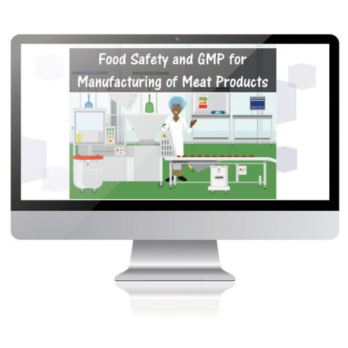 Food Safety and GMP for Manufacturing Meat Products