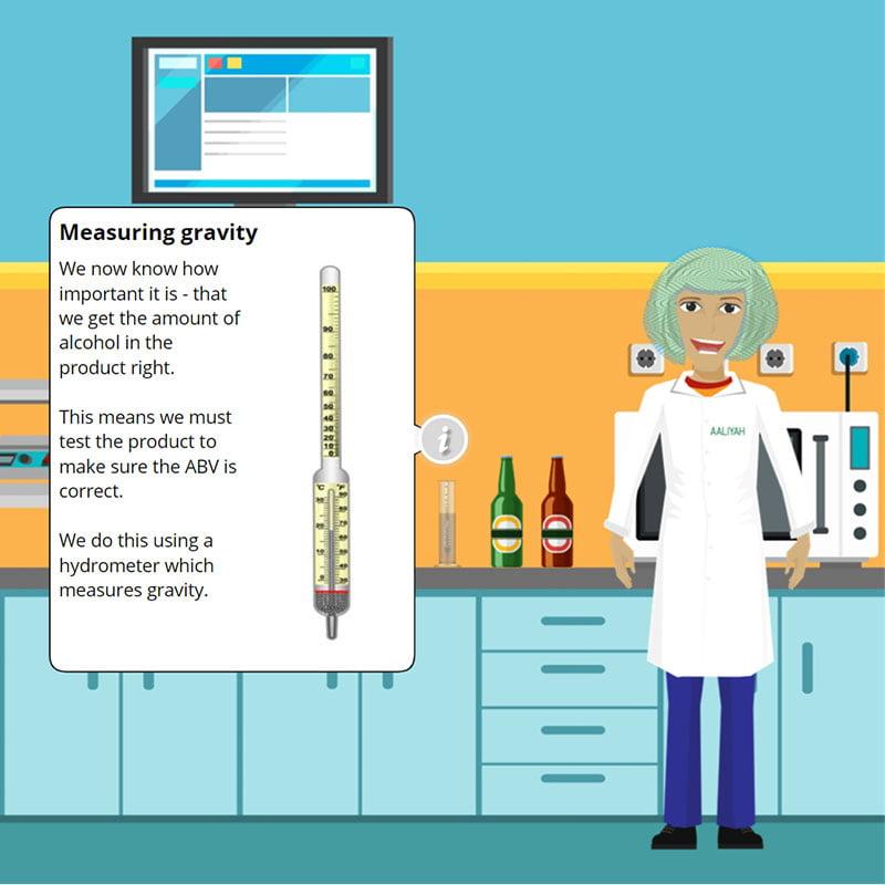 Measuring Gravity - Level 2 training for Alcoholic Drinks