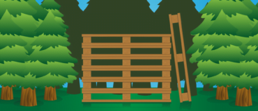 Wooden pallets for export and to importing product