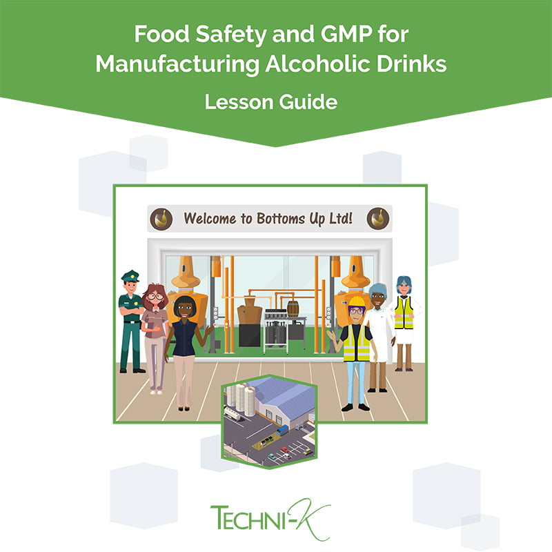 Food safety and gmp training for alcoholic drinks