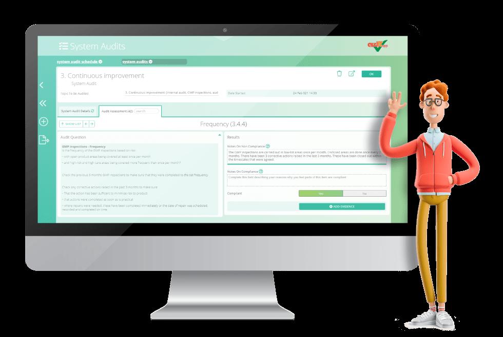 audIT.app - internal audit software for the food industry