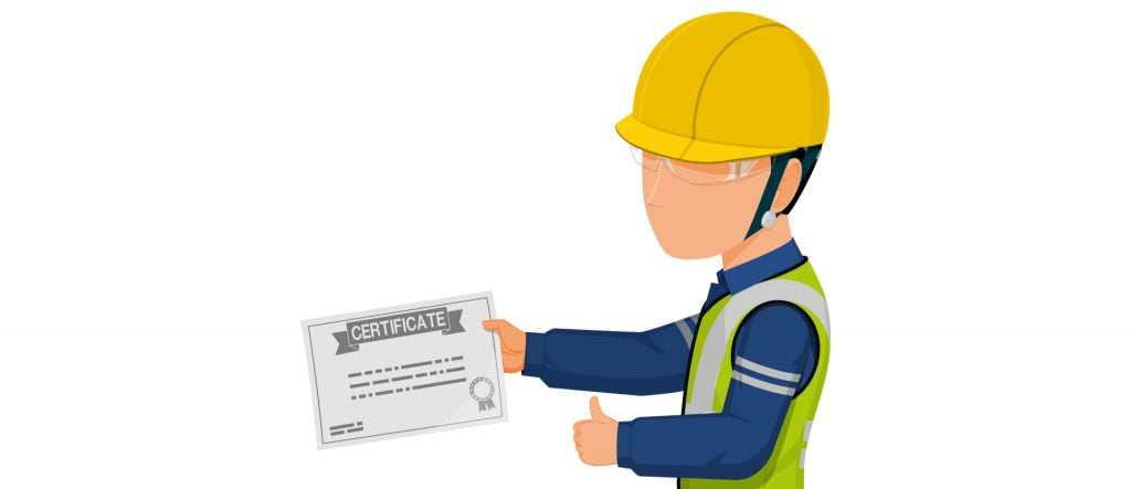 Product contact certificate